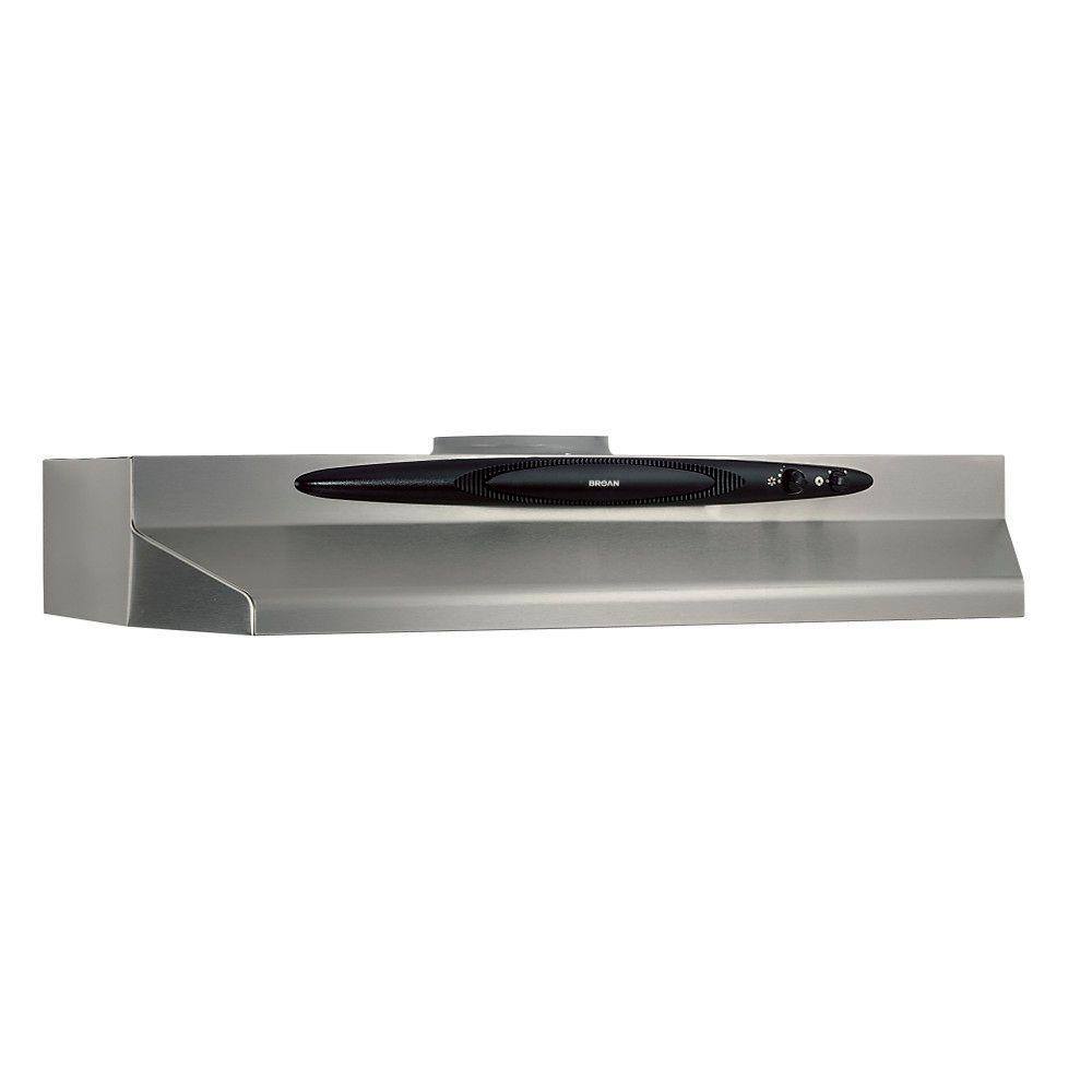 broan qt20000 quiet hood 30 in convertible range hood in. Black Bedroom Furniture Sets. Home Design Ideas