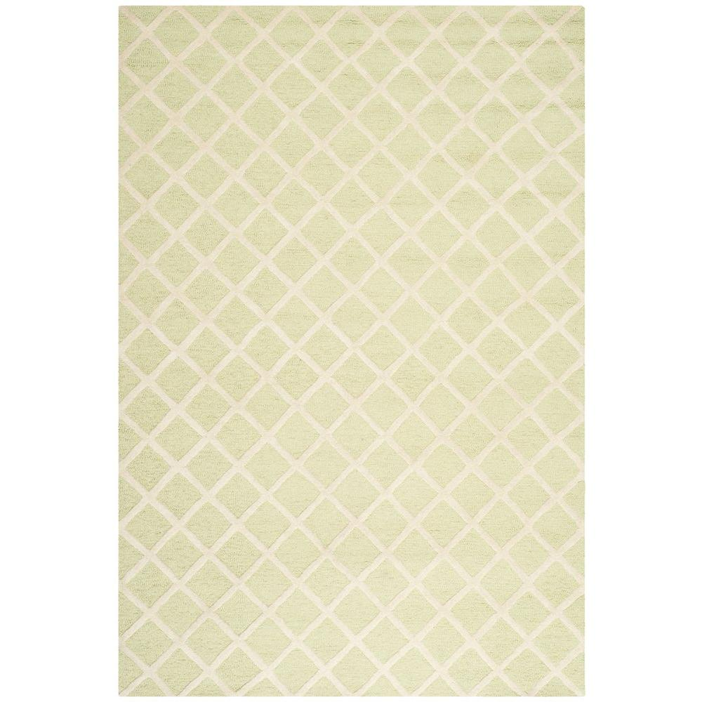 Cambridge Light Green/Ivory 6 ft. x 9 ft. Area Rug