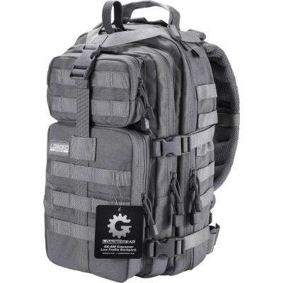 Loaded Gear GX-400 Medium 16 in. Gray Ballistic Nylon Crossover Backpack