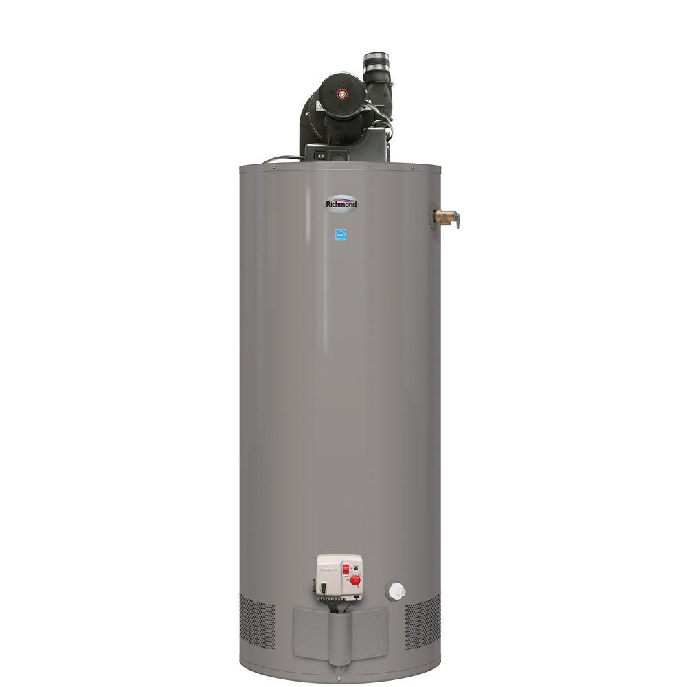 Richmond 40 Gal Short 6 Year 36 000 Btu Natural Gas Power