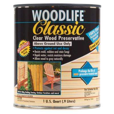 1-qt. Classic Clear Above Ground Wood Preservative (Case of 6)