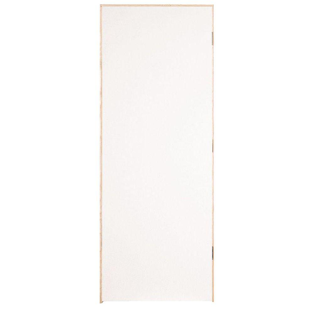 Flush Hardboard Right-Handed Hollow-Core Smooth  sc 1 st  Home Depot & Masonite 30 in. x 80 in. Primed Smooth Flush Hardboard Hollow Core ...