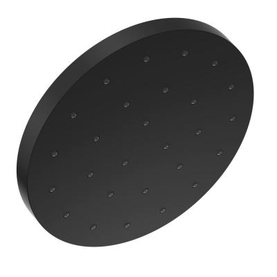 1-Spray Pattern with 1.75 GPM 12 in. Ceiling Mount Fixed Shower Head with H2Okinetic UltraSoak Spray in Matte Black