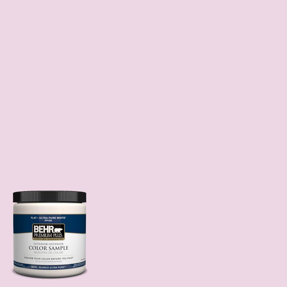 BEHR Premium Plus 8 oz. #PPH-32 Pretty Pink Interior/Exterior Paint Sample