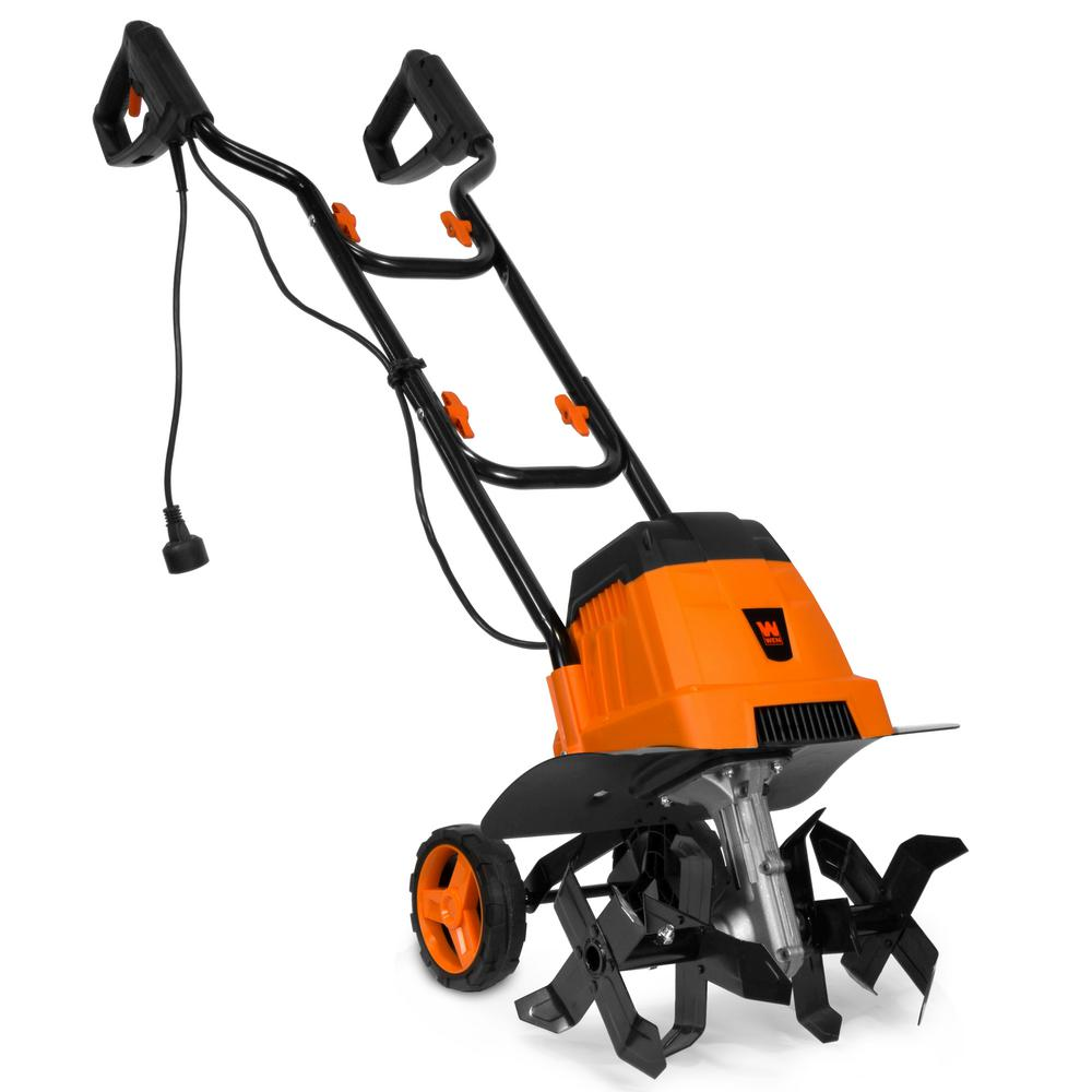 WEN 14.2 in. 7 Amp Electric Tiller and Cultivator