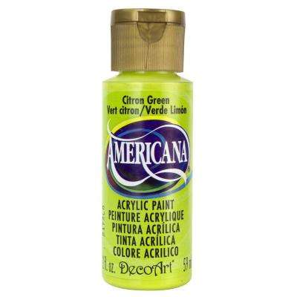 Americana 2 oz. Citron Green Acrylic Paint