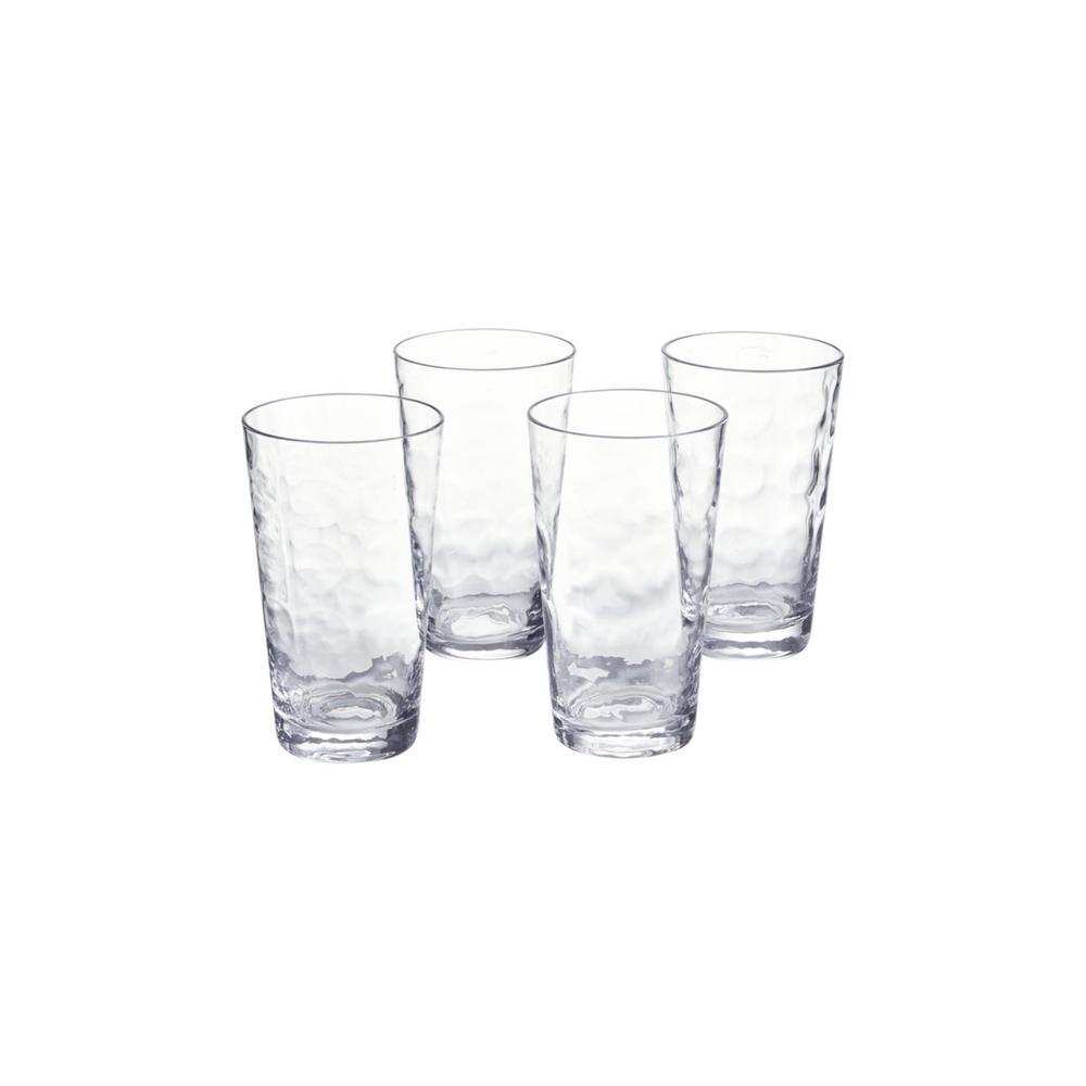 Vinings 18 fl. oz. Glass Tumblers (Set of 4)