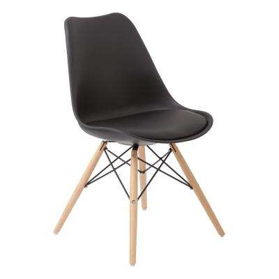 Allen Black Guest Chair