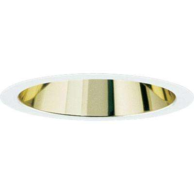 6 in. Gold Alzak Recessed Reflector Trim