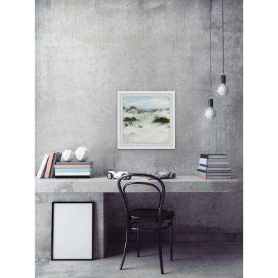 "32 in. H x 32 in. W ""White Sands II"" by Marmont Hill Framed Wall Art"