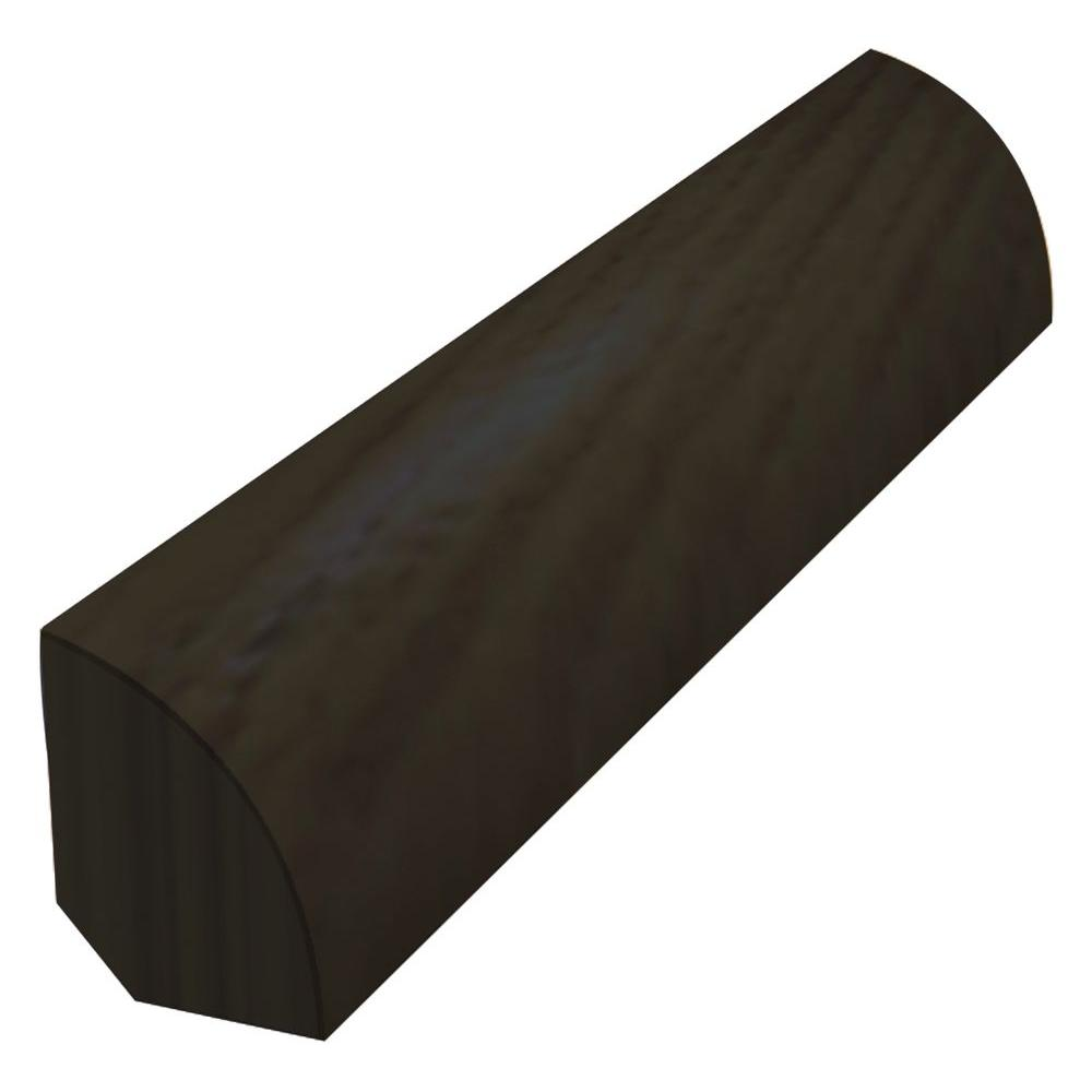Shaw Slate 3/4 in. Thick x 3/4 in. Wide x 78 in. Length Quarter Round Molding