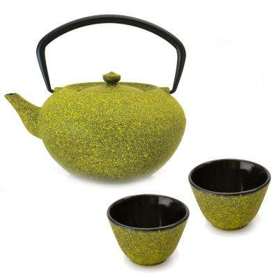 Studio 4.2-Cup Yellow Cast Iron Teapot Set