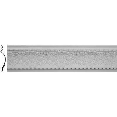 16-1/8 in. x 17-3/4 in. x 95-7/8 in. Polyurethane Norwich Crown Moulding