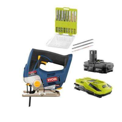 18-Volt ONE+ Jigsaw Kit with Blade Kit (20-Piece)