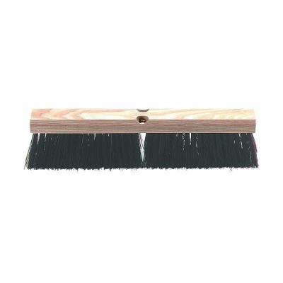 18 in. Polypropylene Heavy Garage Sweep (Case of 12)