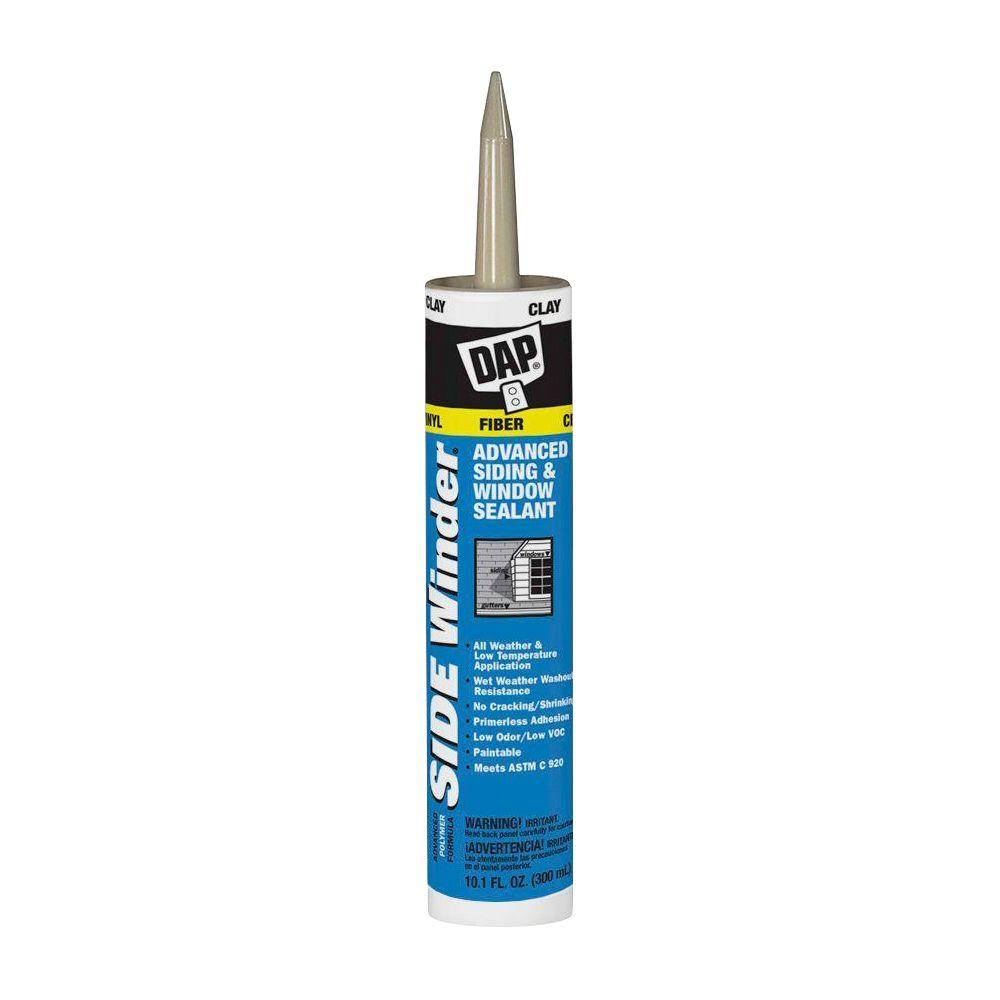 DAP Sidewinder 10.1 oz. Clay Advanced Polymer Siding and Window Sealant (12-Pack)