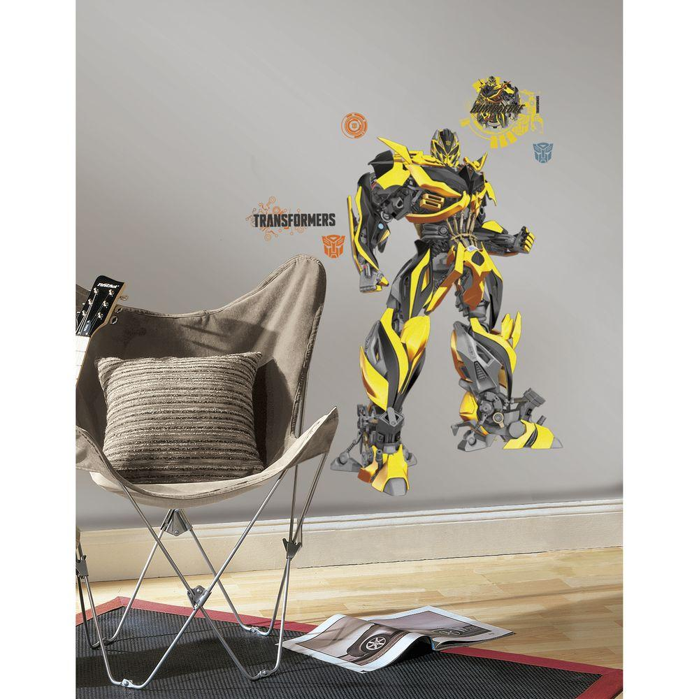 York Wallcoverings 5 in. x 19 in. Transformers Age of Extinction ...