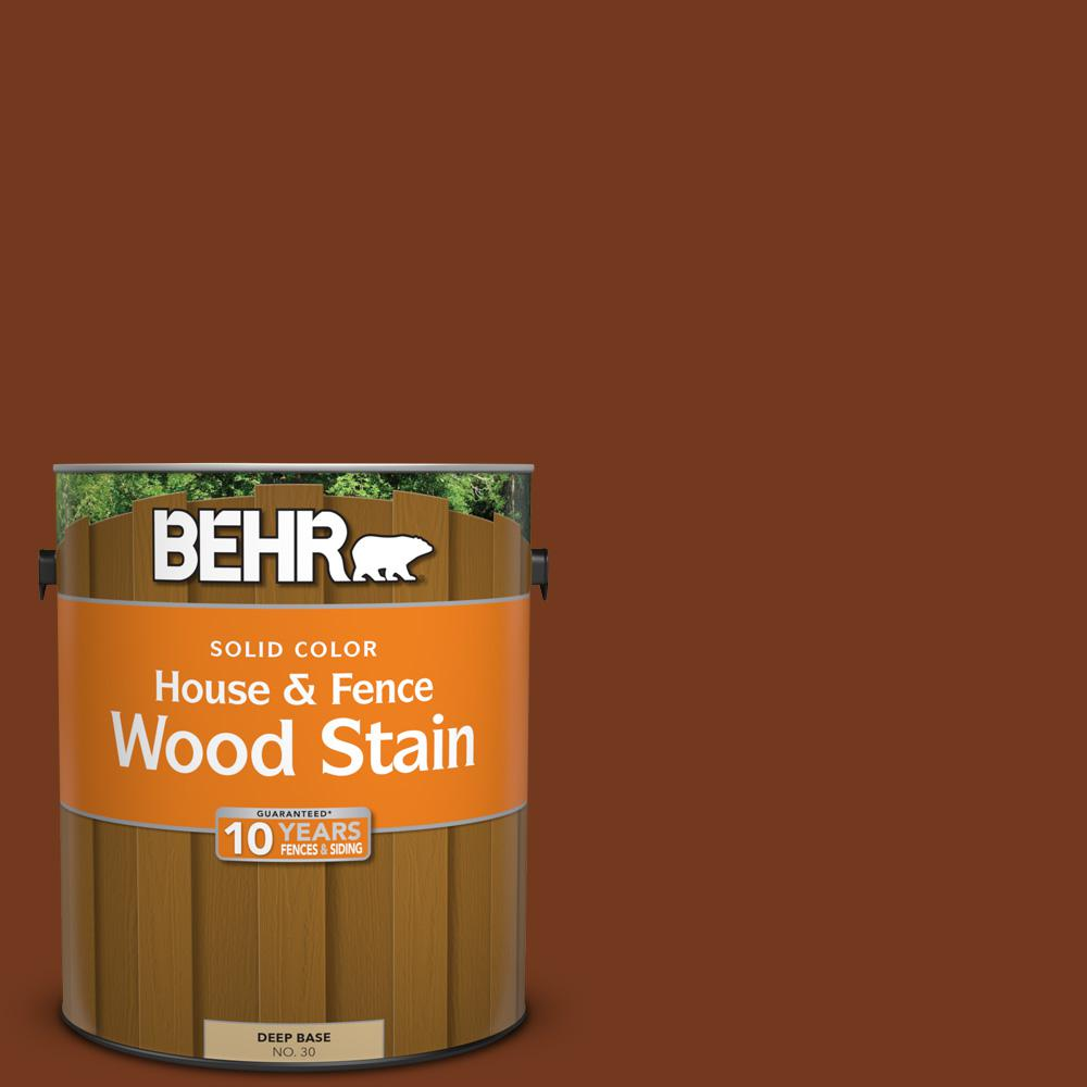 BEHR 1 gal. #SC-116 Woodbridge Solid Color House and Fence Exterior ...