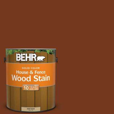 1 gal. #SC-116 Woodbridge Solid Color House and Fence Exterior Wood Stain