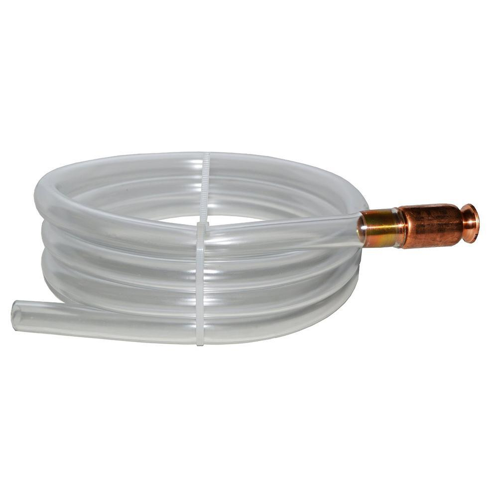 Anti Static Gas Siphon Pump Fuel Gasoline Water Shaker Safety Self Priming