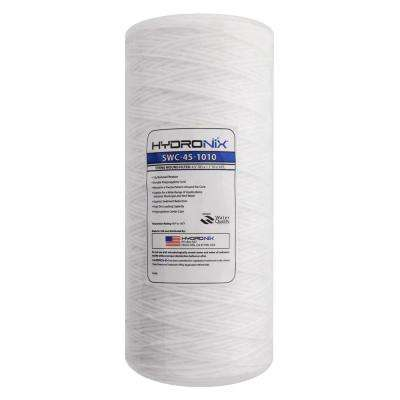 SWC-45-1010 4.5 in. x 10 in. 10 Micron String Wound Filter