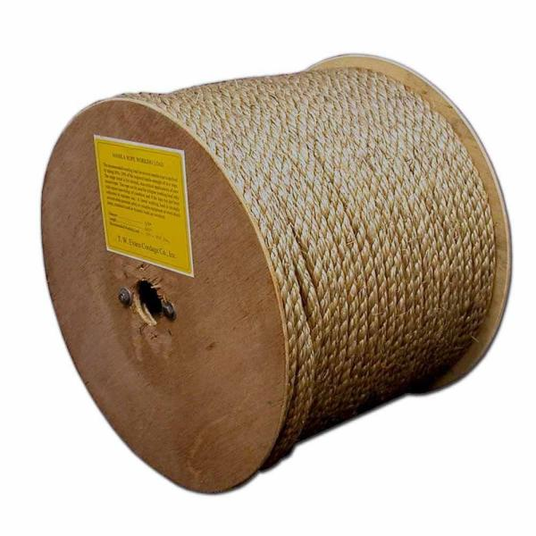 1/2 in. x 150 ft. Manila Rope Reel
