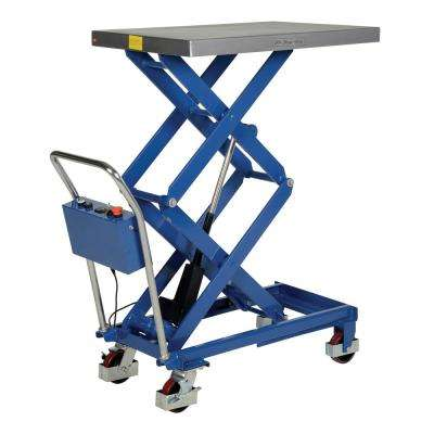 400 lb. Capacity 23.625 in. x 35.5 in. Linear Scissor Cart