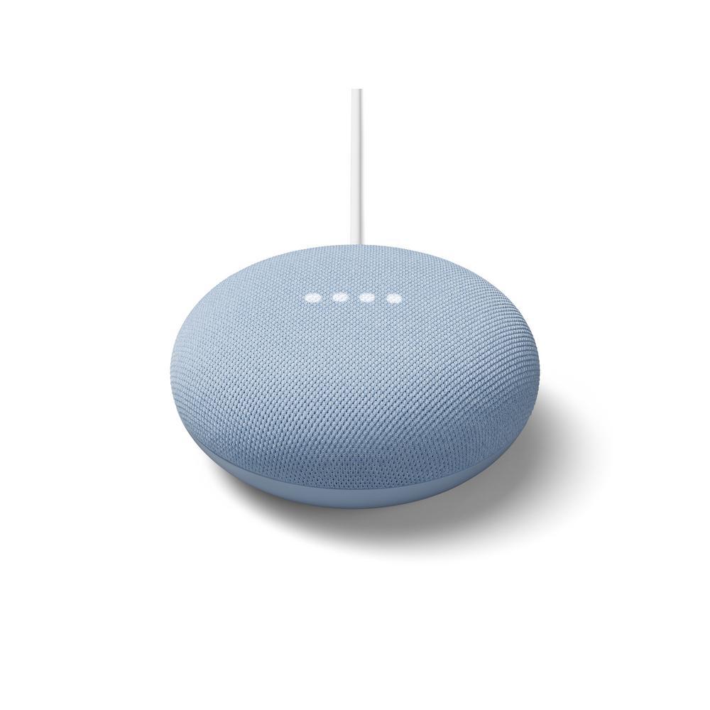 Google Nest Mini (2nd Gen) Sky, Blue was $49.0 now $29.0 (41.0% off)