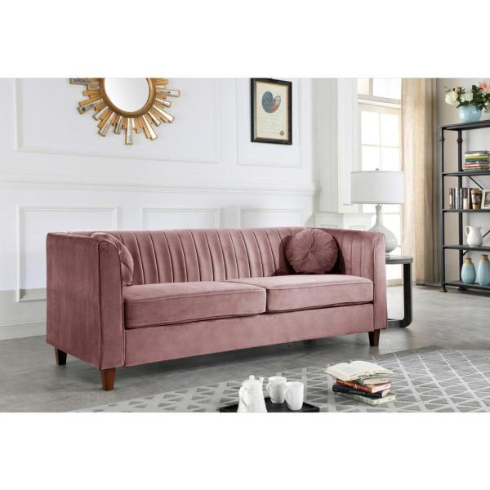 Us Pride Furniture Lowery Velvet Kitts
