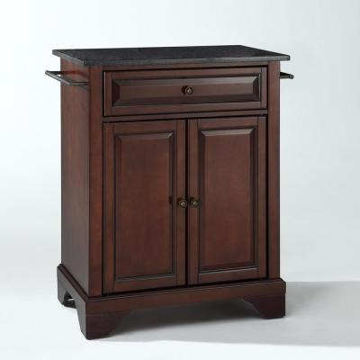 Lafayette Portable Kitchen Island with Granite Top