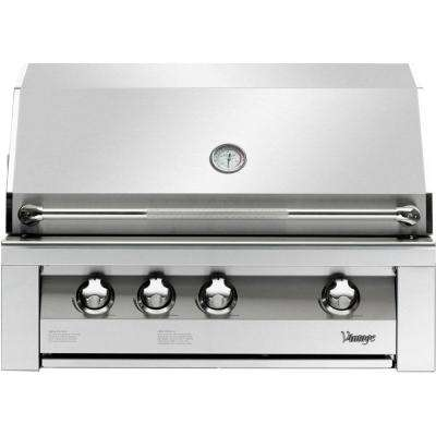 36 in. Built-In Natural Gas Grill in Stainless with Sear Zone