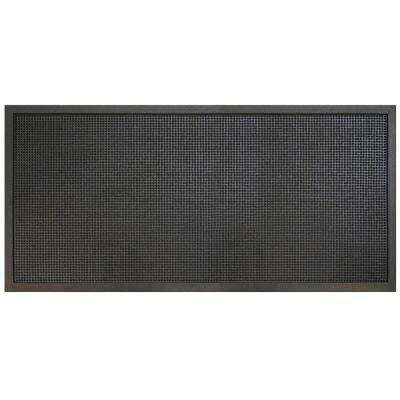Rubber Door Mat Commercial Indoor Outdoor Heavy Duty Large Industrial 4 x 6 ft
