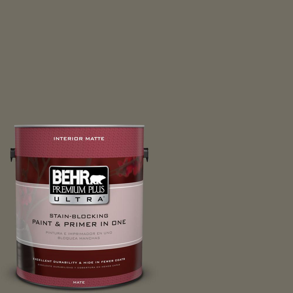 1 gal. #790D-6 Dusty Mountain Flat/Matte Interior Paint