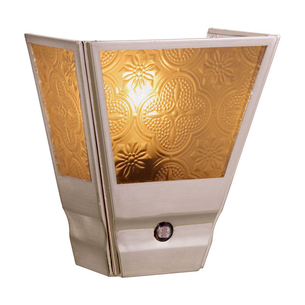 Amerelle Vintage Sconce Automatic Night Light