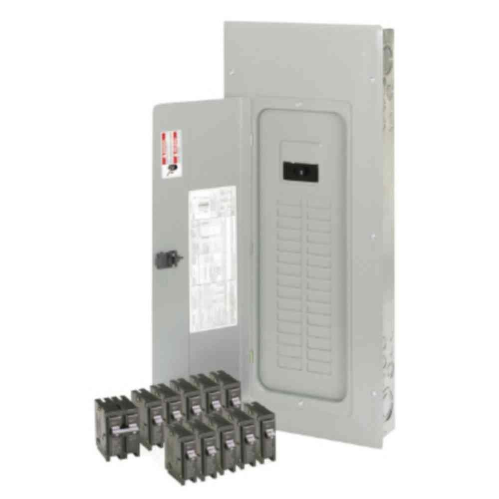 Eaton 200 Amp 30-Space 40-Circuit Type BR Main Breaker Loadcenter Value Pack (Includes 11 Breakers)
