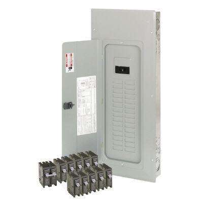 200 Amp 30-Space 40-Circuit Type BR Main Breaker Loadcenter Value Pack (Includes 11 Breakers)