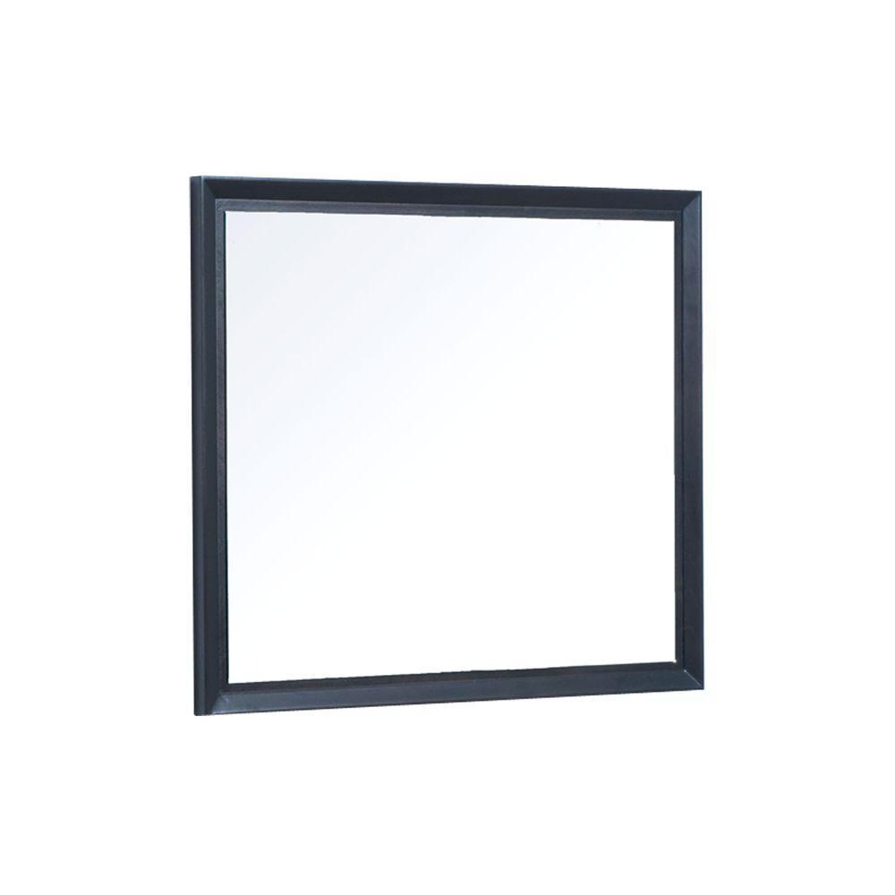 Cube 36 in. W x 30 in. H Wall Mirror in