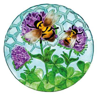 Busy Bee Days 18 in. Birdbath