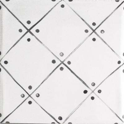 Handspun Slate Line Art 6 in. x 6 in. Ceramic Wall Tile (10 sq. ft. / case)