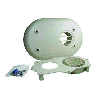 3 in. PVC Horizontal Vent Termination Kit for High Efficiency Tankless Gas Water Heaters