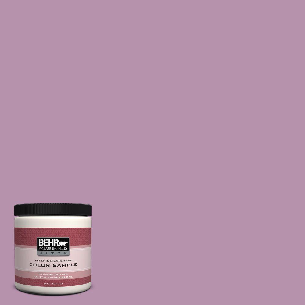 BEHR Premium Plus Ultra 8 oz. #680D-5 Bed Of Roses Interior/Exterior Paint Sample
