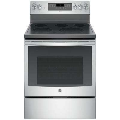 Adora 5.3 cu. ft. Electric Range with Self-Cleaning Convection Oven in Stainless Steel