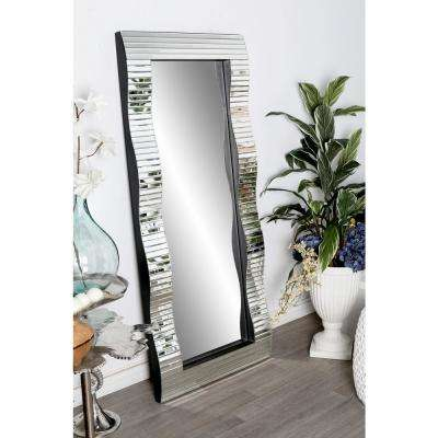 Full-Length Rectangular Silver Door/Wall Mirror