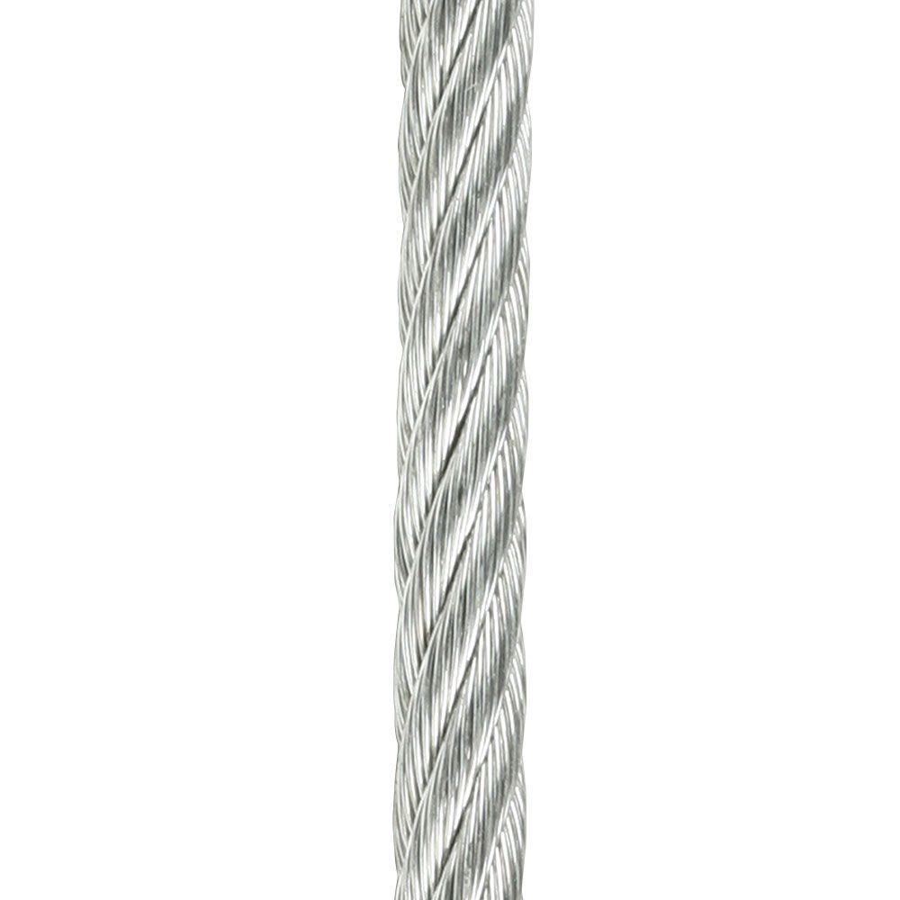 Crown Bolt 1/8 in. x 20 ft. Galvanized Dog Run-64792 - The Home Depot