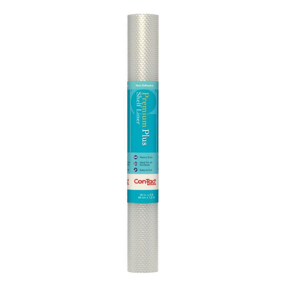 Con-Tact Premium Plus Nova Clear Shelf/Drawer Liner 04F-C5T57-06