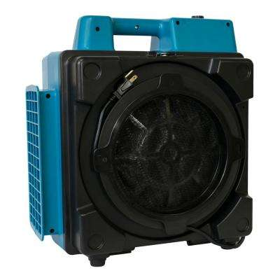 550 CFM Commercial 4-Stage Filtration HEPA Purifier System Mini Air Scrubber