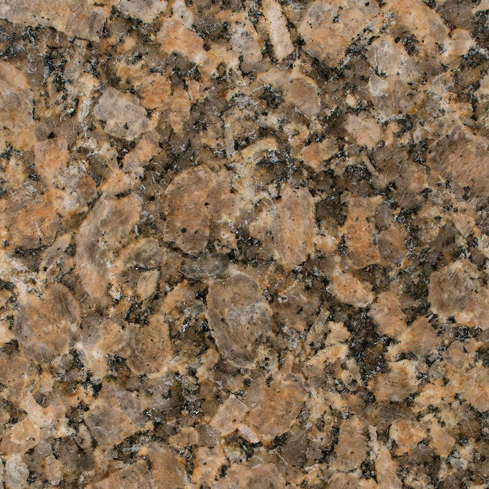 Stonemark Granite 3 in. Granite Countertop Sample in Giallo Vicenza