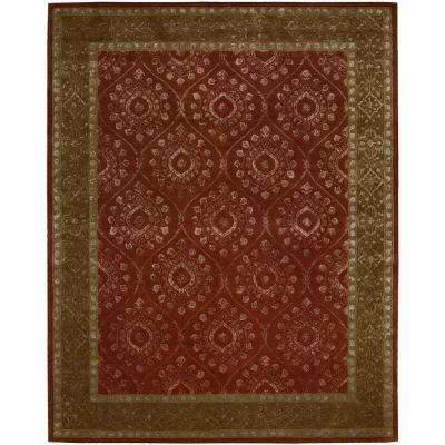 Symphony Ruby 10 ft. x 13 ft. Area Rug