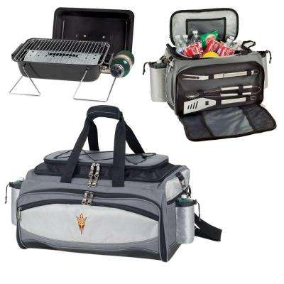 Vulcan Arizona State Tailgating Cooler and Propane Gas Grill Kit with Embroidered Logo