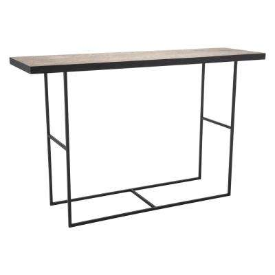 Forest Black Console Table